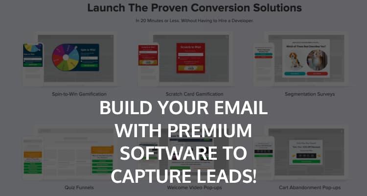 Premium Lead Capture Software